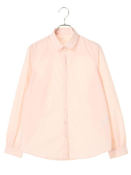 【KANKO×earth】ラウンドカラーシャツ
