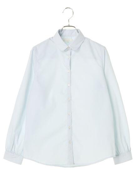 KANKO×earth】ラウンドカラーシャツ