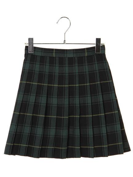 【KANKO×earth】チェックプリーツスカート