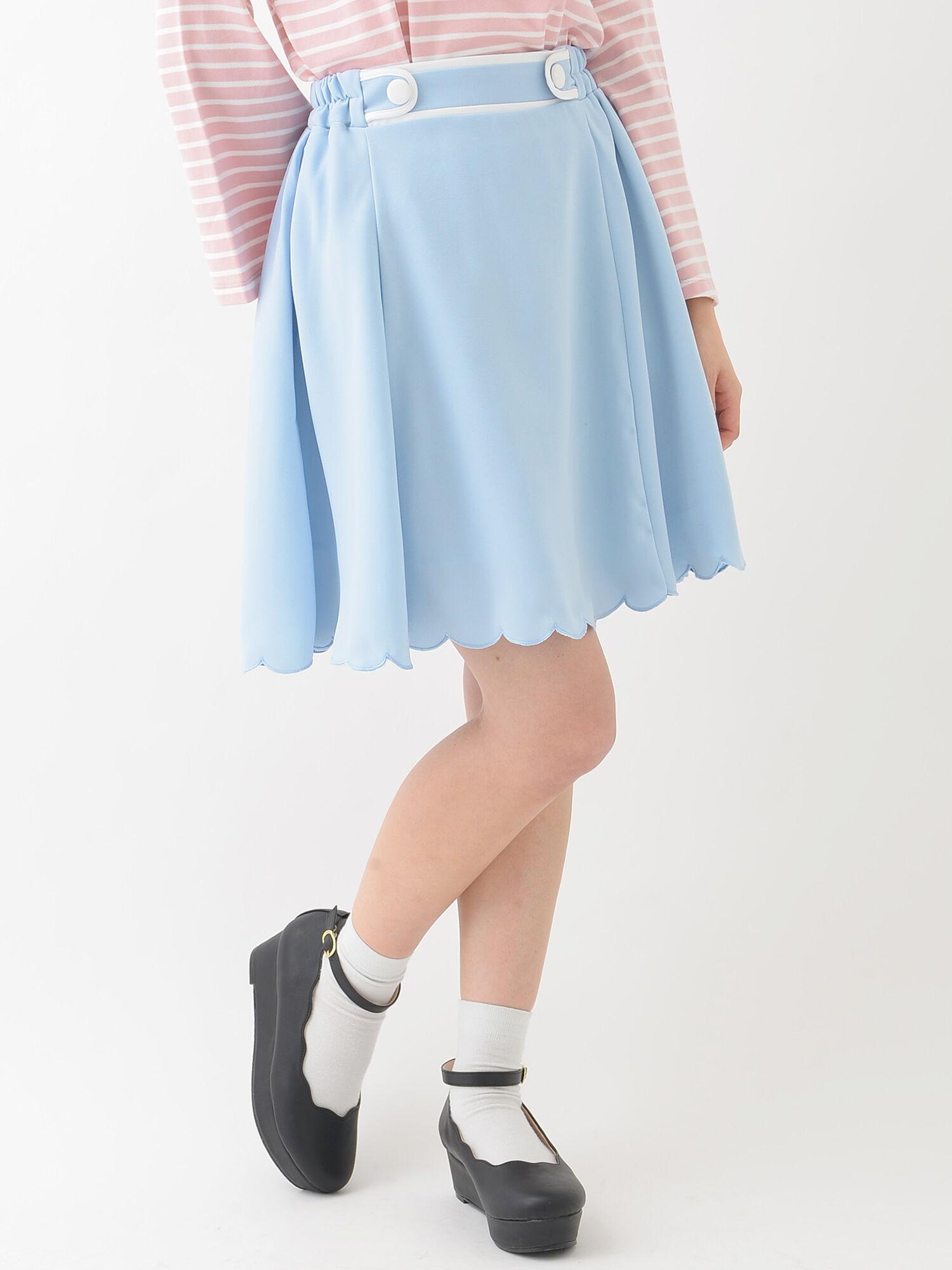 ★【Rune】パイピングスカート