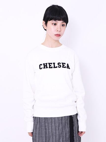 ・CHELSEA刺繍ロゴ裏毛プルオーバー