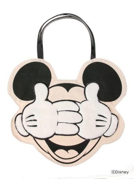 WEB限定ミッキーマウストートバッグ