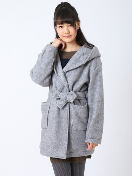 【Junior】・ビッグフードガウンコート