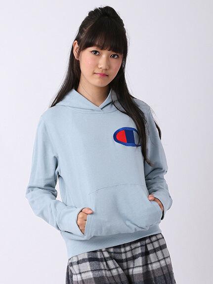 【Junior】・FChampionロゴ刺繍パーカー