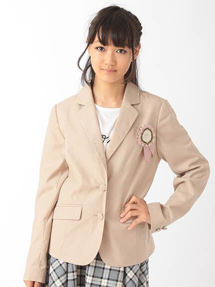 【Junior】ロゼッタ付T/Rジャケット