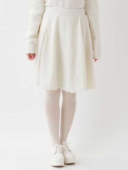 Rib Flare Skirt
