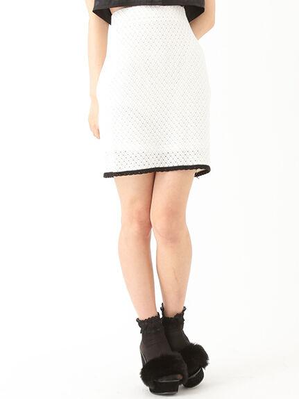 クロシェタイトスカート