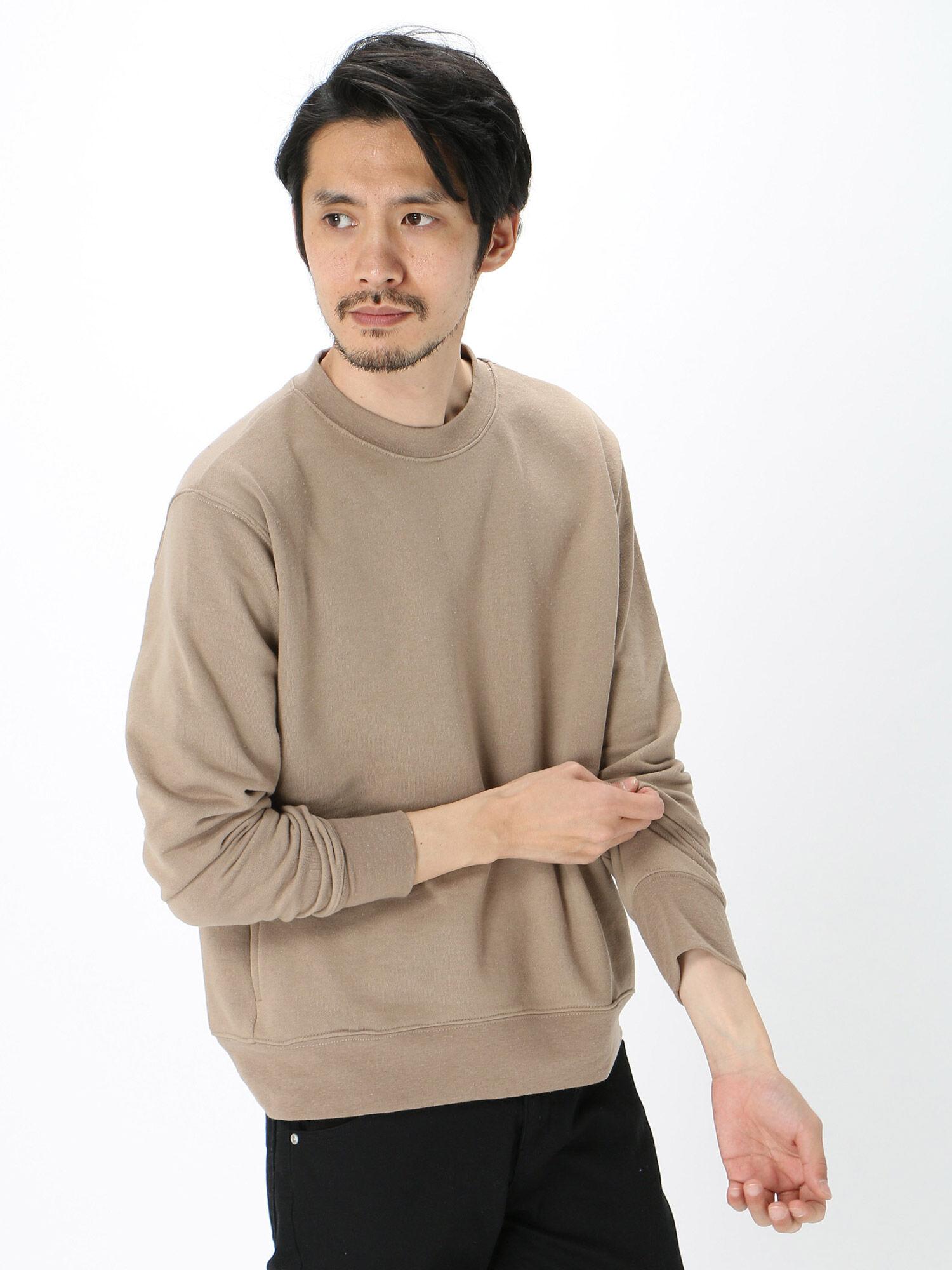 Men'sTC裏毛シームポケットプルオーバー