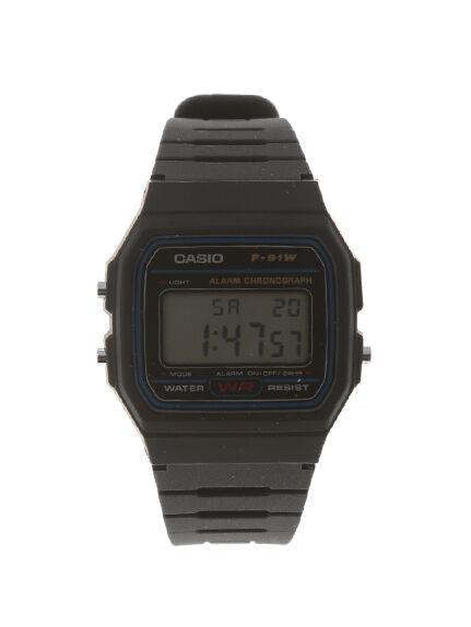 【CASIO カシオ 】DIGITAL F-91BLウォッチ【SEVENDAYS=SUNDAY セブンデイズ サンデイ】/ジュエリー・腕時計 レディース腕時計/CC031520NQ/アースミュージック&エコロジーでお馴染みの【ストライプクラブ】