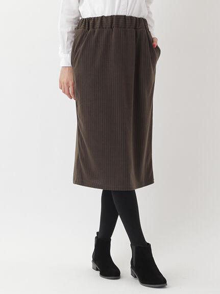 ・ストライプロングタイトスカート