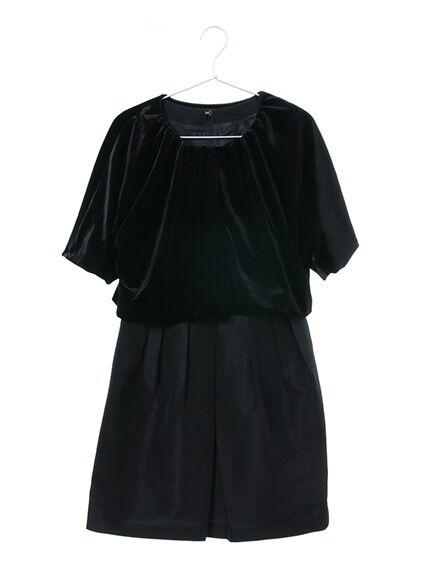 ボレロ付きドレス