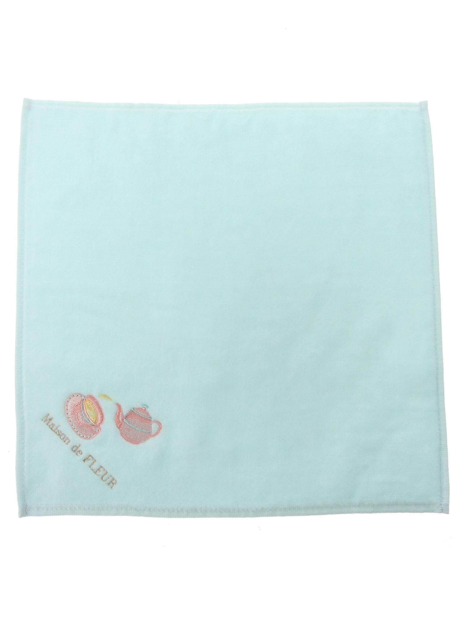 ティータイム刺繍タオルハンカチ