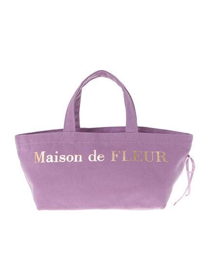 ブランドロゴバッグ S【Maison de FLEUR メゾン ド フルール】/バッグ・小物・ブランド雑貨 レディースバッグ/CC0813001N/アースミュージック&エコロジーでお馴染みの【ストライプクラブ】