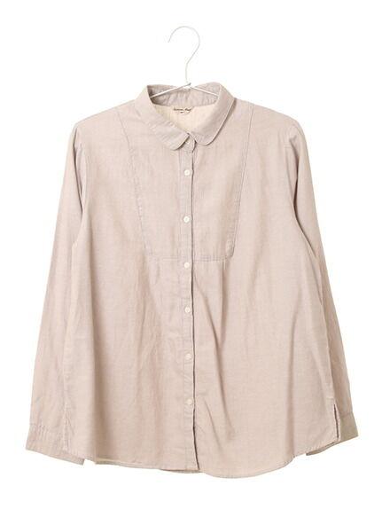 綿切り替えレギュラーシャツ