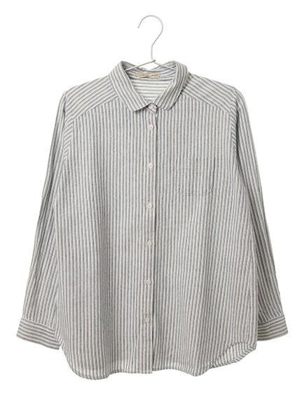 綿レギュラーシャツ/柄アソート