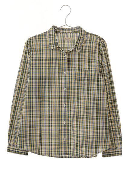 TCチェックシャツ