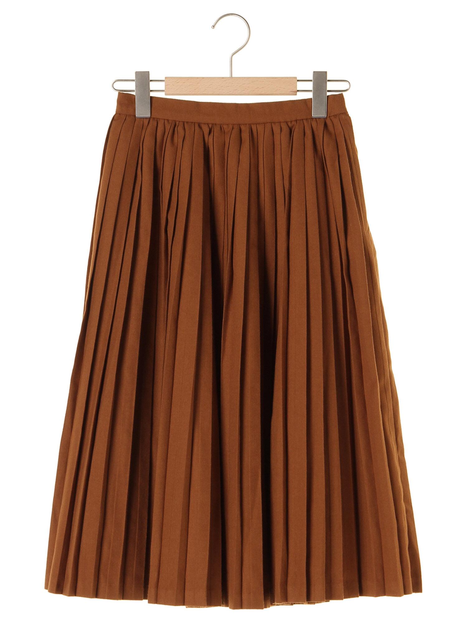 TRツイルプリーツスカート