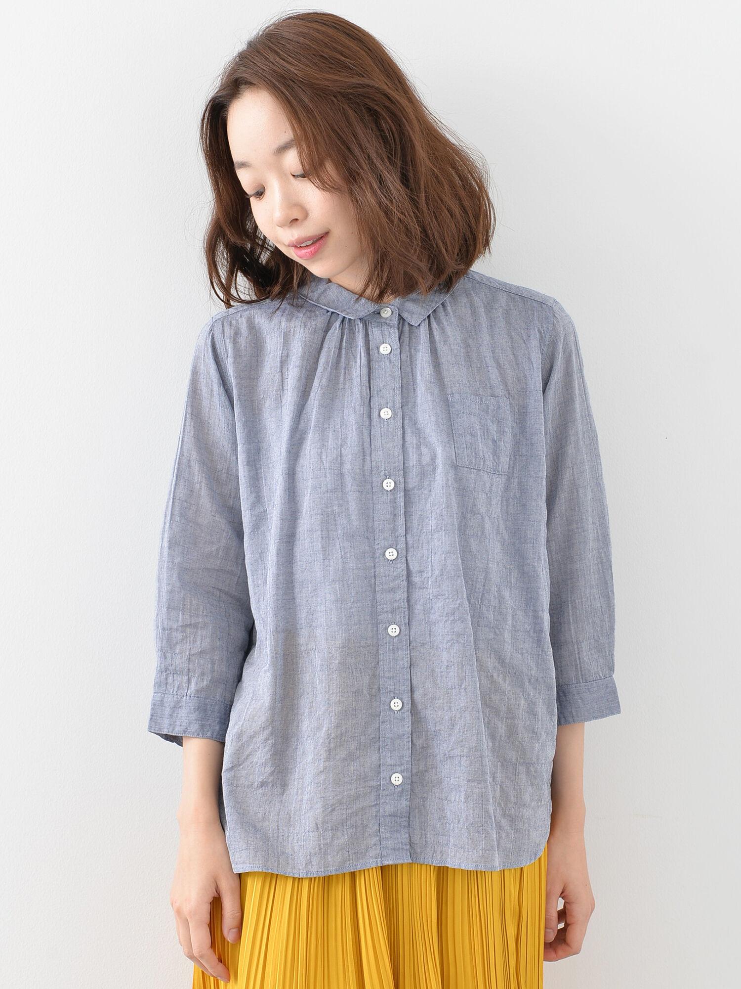 C/PU混柄アソートシャツ