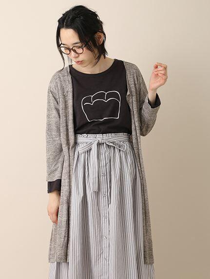 綿スラブtinbreadptTシャツ