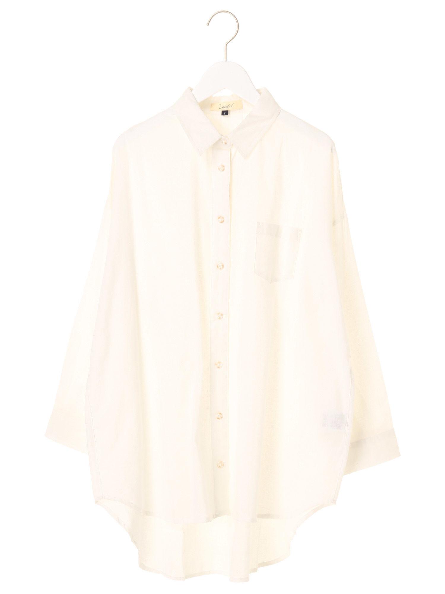 Easeblue・無地BIGシャツ