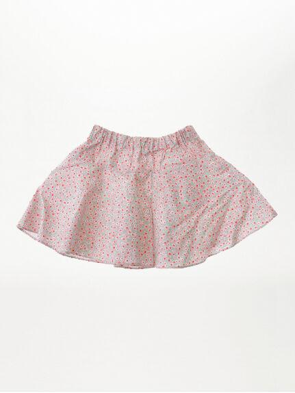 スモールフラワープリントフレアースカート