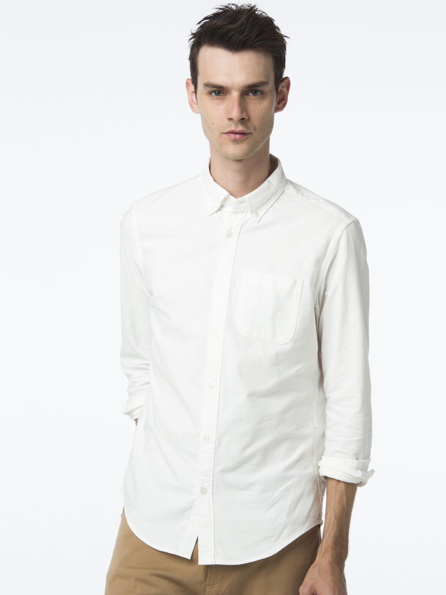 ・オックスリラックスシャツ
