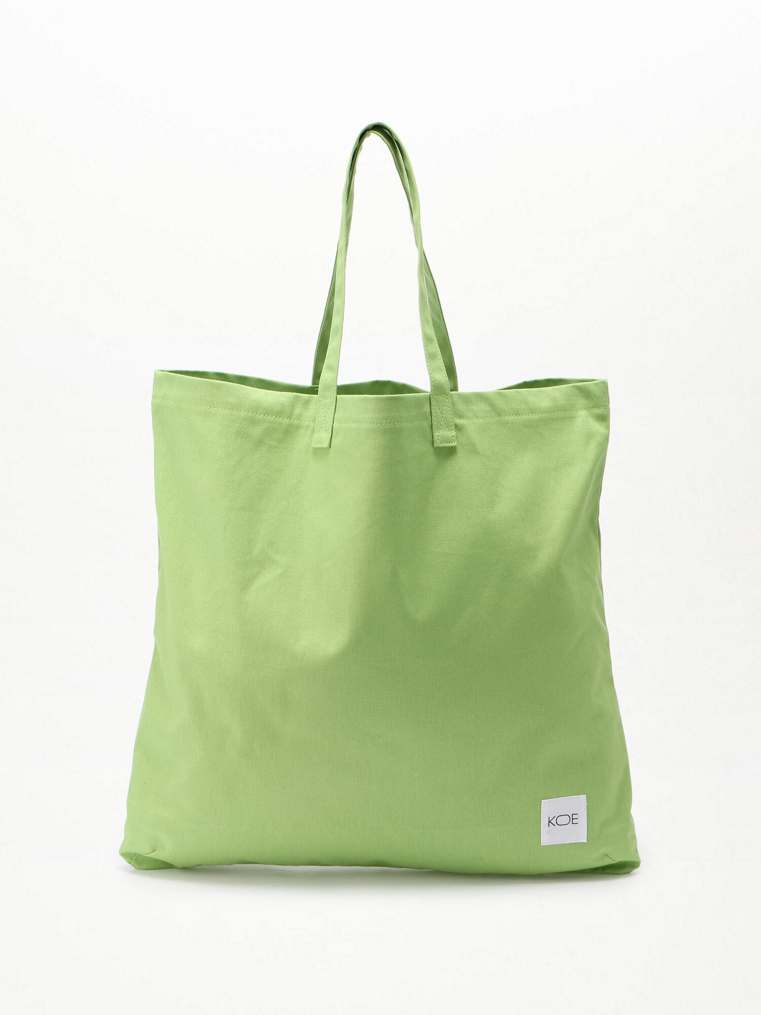 野菜染めトートバッグ L