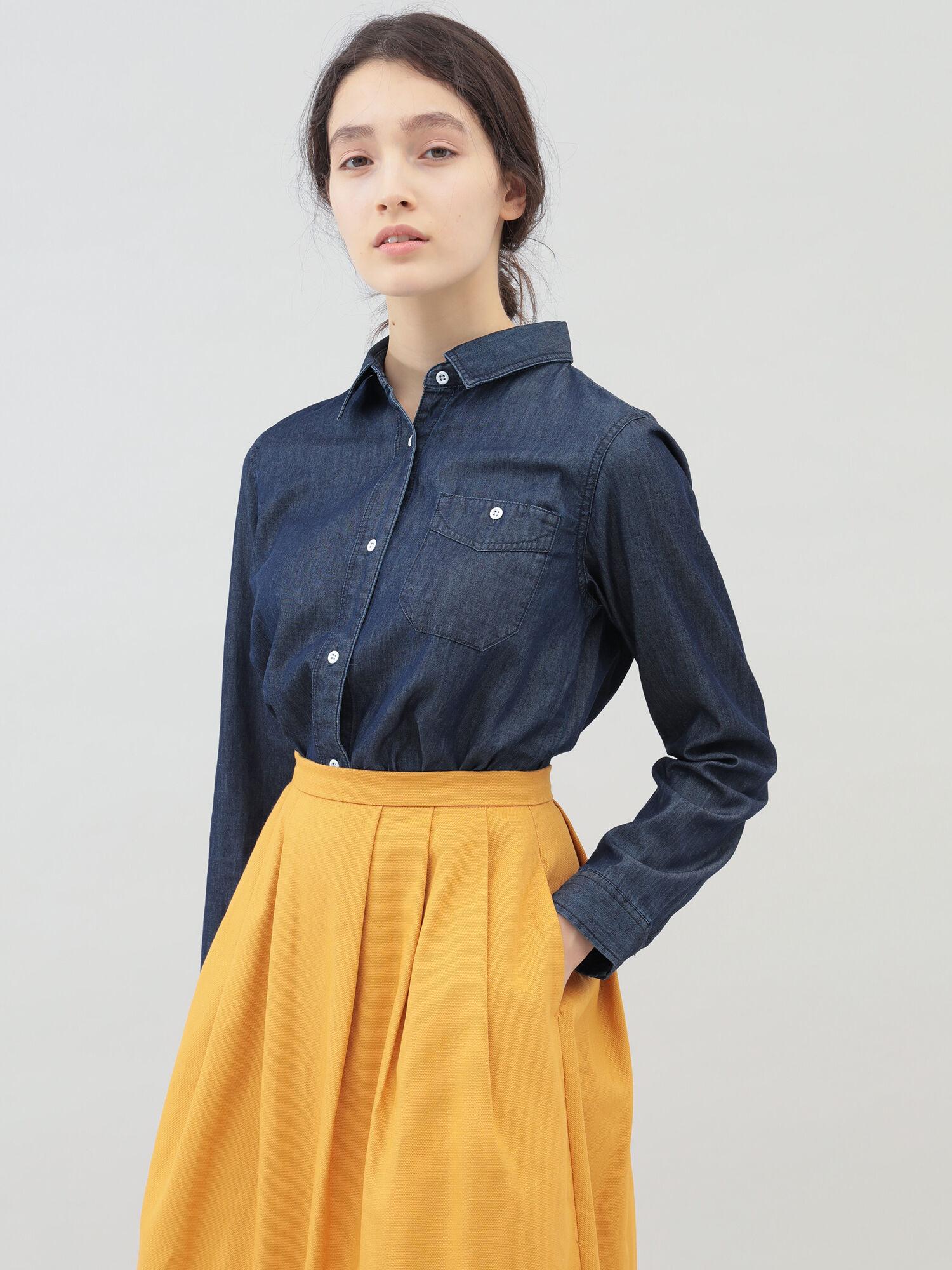 ベーシックデニムシャツ