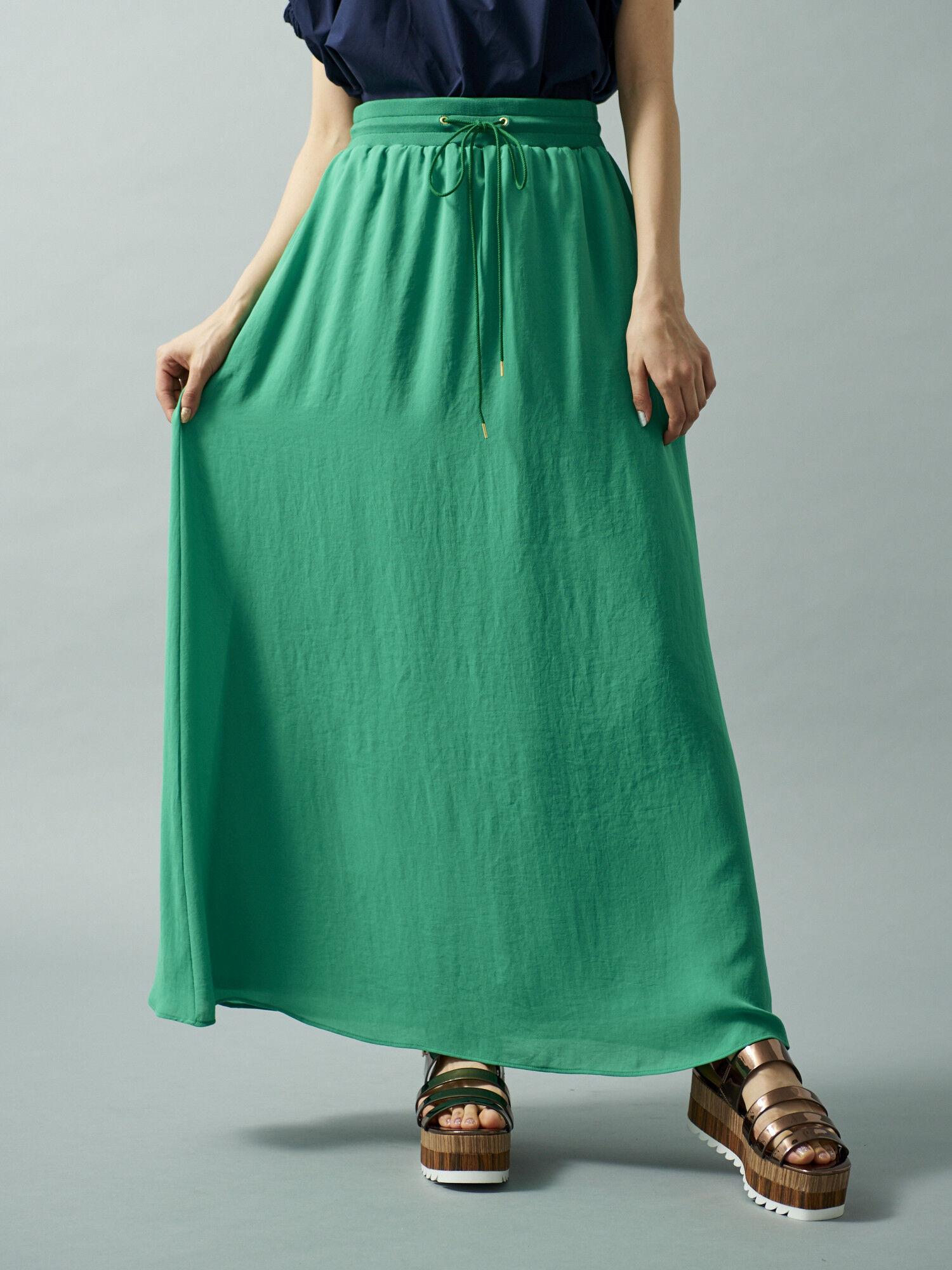 ◎カラーマキシスカート