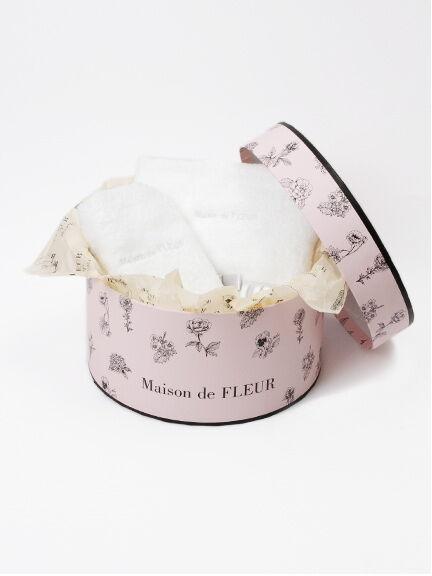 ギフトBOX大【MaisondeFLEUR】ピンク