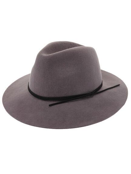 Lily Brown(リリーブラウン)のフラワーモチーフフェルトハット レディースの帽子(ハット