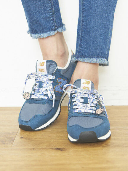 ★New Balance CW420×earth スニーカー(グレー)