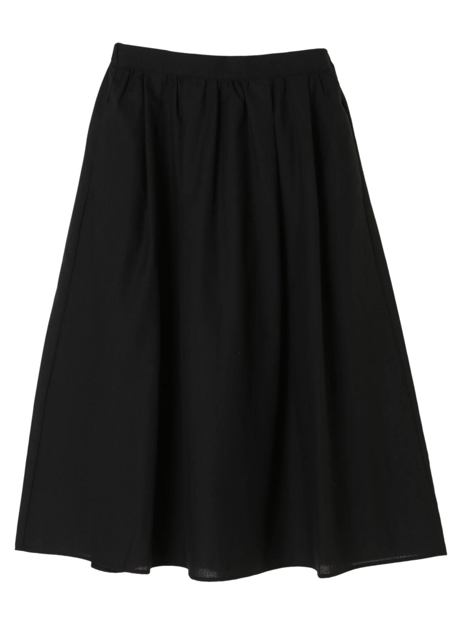 アキイロカラータックギャザースカート