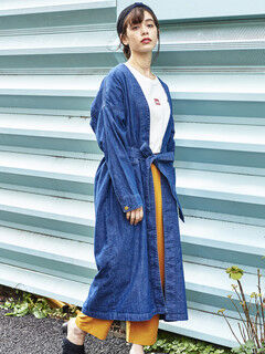 【mer 6月号掲載アイテム】Lee SHIRTS GOWN