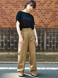 E hyphen world gallery(イーハイフンワールドギャラリー) |UNIVERSAL OVERALL WIDE PANTS