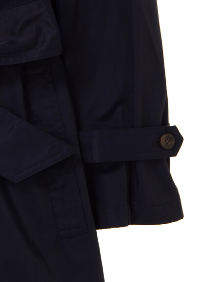 KiwaSylphy(キワシルフィー) |twill deformed trench CT