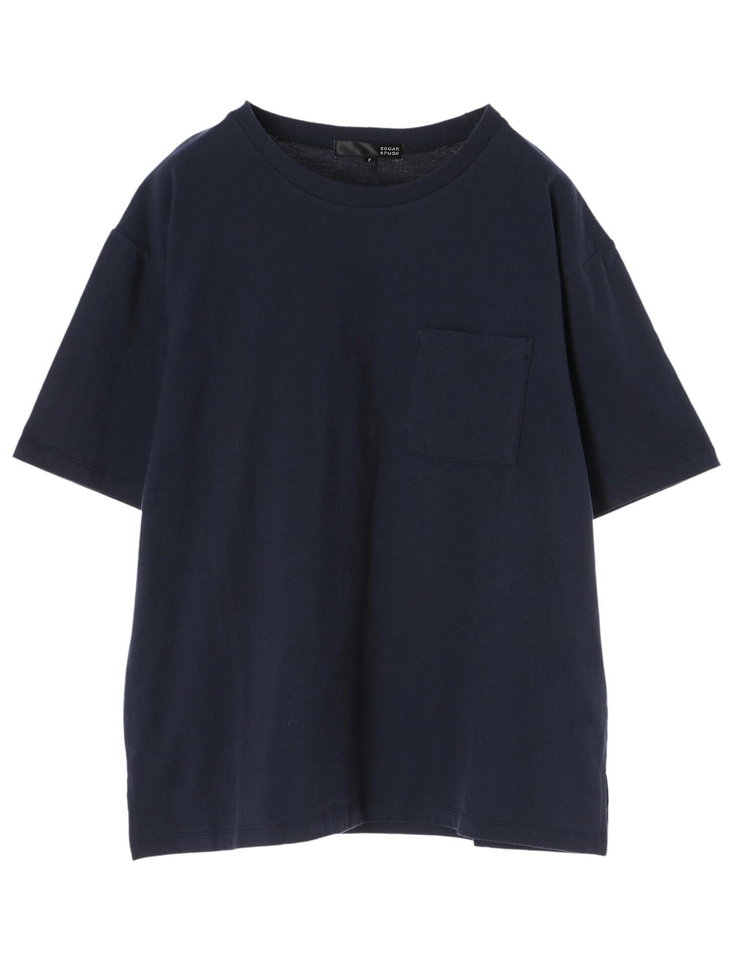 ポケット付ビッグTシャツ